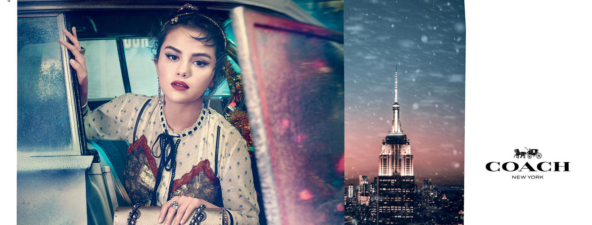 Lights, Camera, Holiday!  The New Coach Festive Campaign