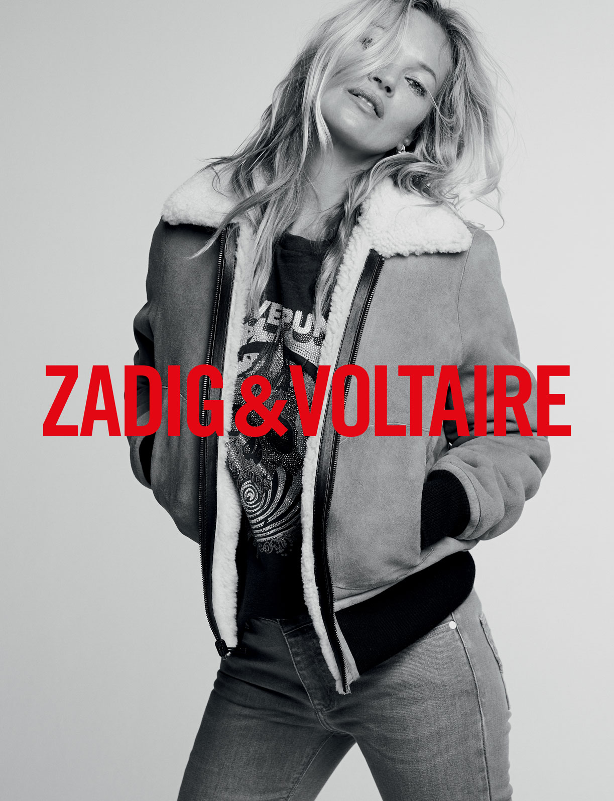 Topmoderne The New Muse - Kate Moss for Zadig & Voltaire - THE FALL JU-53