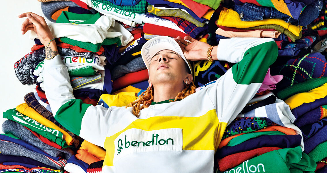 United Colors of Benetton + Ghali