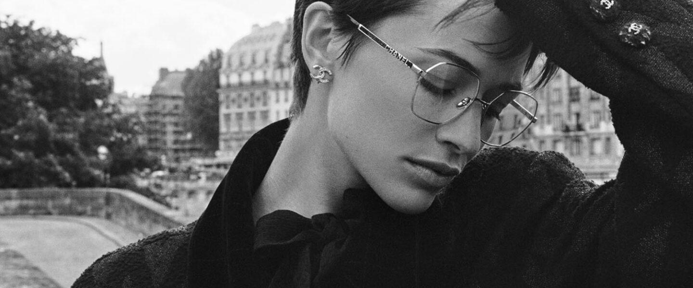 CHANEL Optical Eyewear E-Commerce Launch
